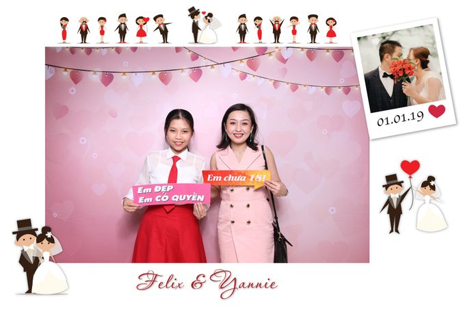 Felix & Yannie Wedding by Printaphy Photobooth Ho Chi Minh Sai Gon Vietnam by Printaphy Photobooth Vietnam - 002