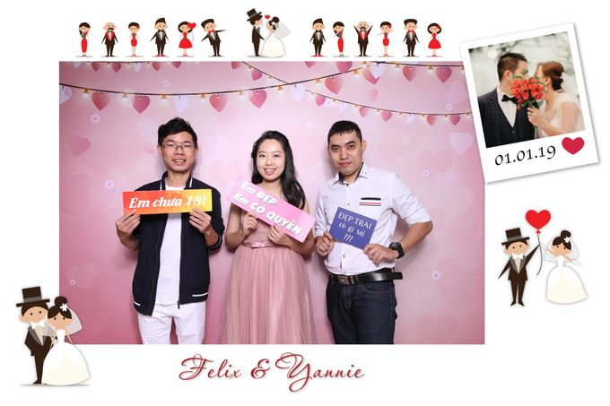 Felix & Yannie Wedding by Printaphy Photobooth Ho Chi Minh Sai Gon Vietnam by Printaphy Photobooth Vietnam - 003