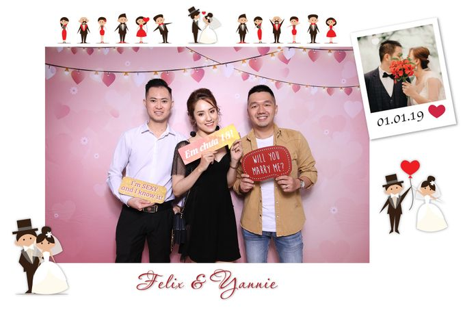 Felix & Yannie Wedding by Printaphy Photobooth Ho Chi Minh Sai Gon Vietnam by Printaphy Photobooth Vietnam - 004