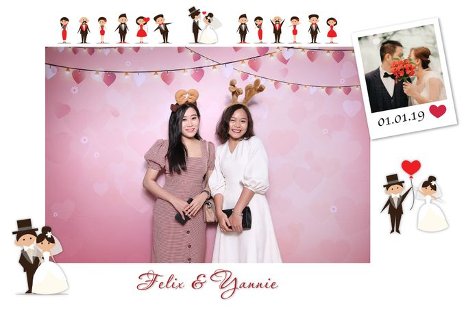 Felix & Yannie Wedding by Printaphy Photobooth Ho Chi Minh Sai Gon Vietnam by Printaphy Photobooth Vietnam - 005