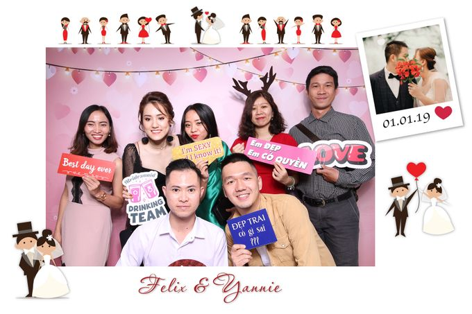 Felix & Yannie Wedding by Printaphy Photobooth Ho Chi Minh Sai Gon Vietnam by Printaphy Photobooth Vietnam - 006