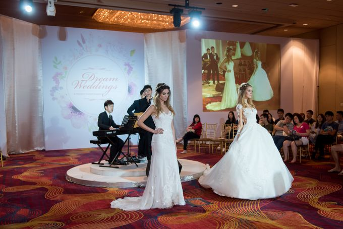 Bridal Gown Fashion Show At Mandarin Orchard Singapore by La Belle Couture Weddings Pte Ltd - 036