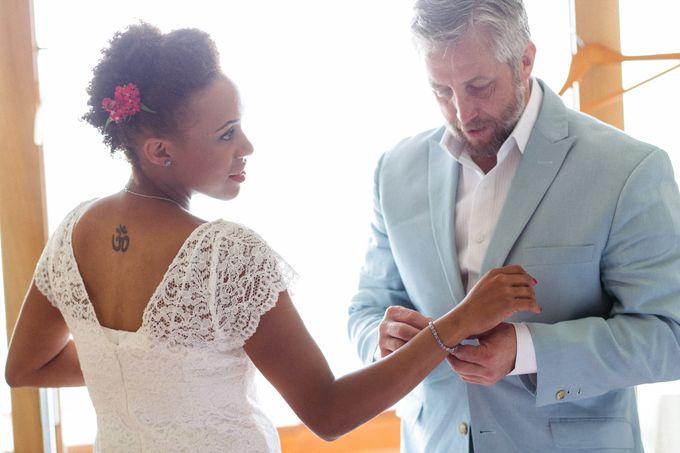 An Afro American wedding in Greece by MarrymeinGreece - 039