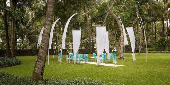 kayumanis jimbaran-wedding ceremony-garden by Kayumanis Private Villa and Spa - 001