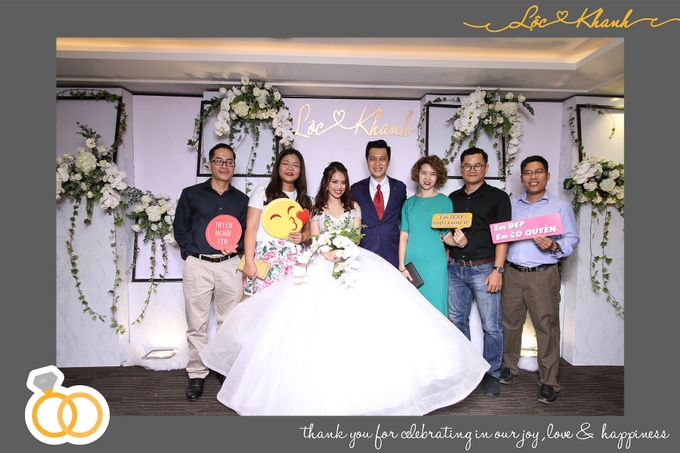 Loc & Khanh Wedding by Printaphy Photobooth Ho Chi Minh Sai Gon Vietnam by Printaphy Photobooth Vietnam - 006