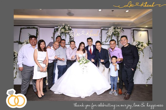 Loc & Khanh Wedding by Printaphy Photobooth Ho Chi Minh Sai Gon Vietnam by Printaphy Photobooth Vietnam - 008