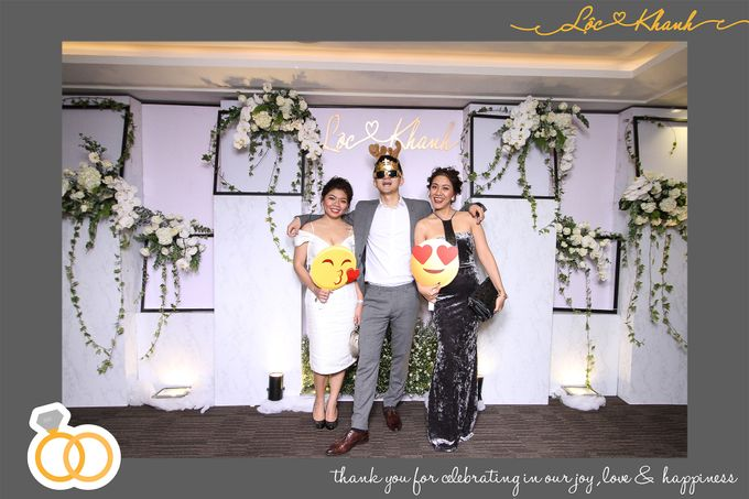 Loc & Khanh Wedding by Printaphy Photobooth Ho Chi Minh Sai Gon Vietnam by Printaphy Photobooth Vietnam - 001