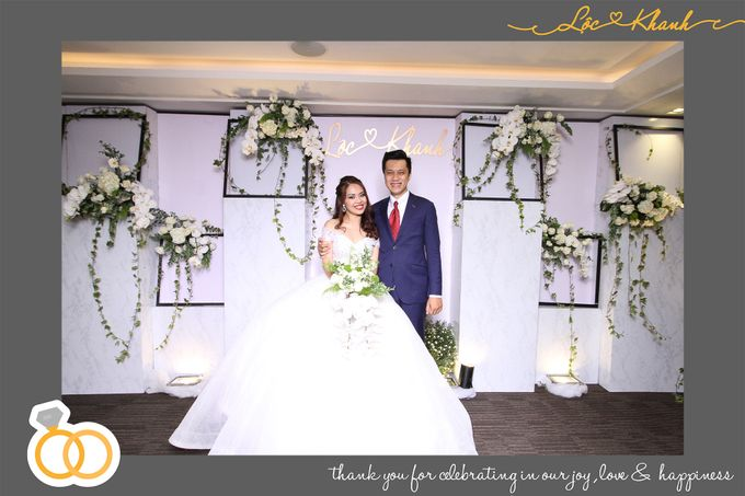 Loc & Khanh Wedding by Printaphy Photobooth Ho Chi Minh Sai Gon Vietnam by Printaphy Photobooth Vietnam - 002