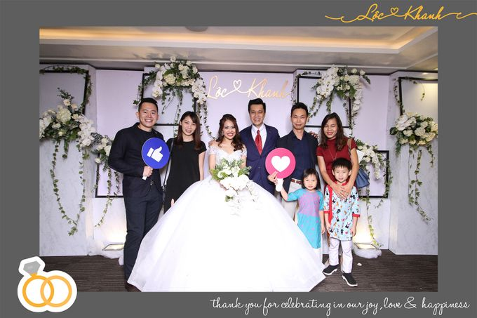 Loc & Khanh Wedding by Printaphy Photobooth Ho Chi Minh Sai Gon Vietnam by Printaphy Photobooth Vietnam - 003