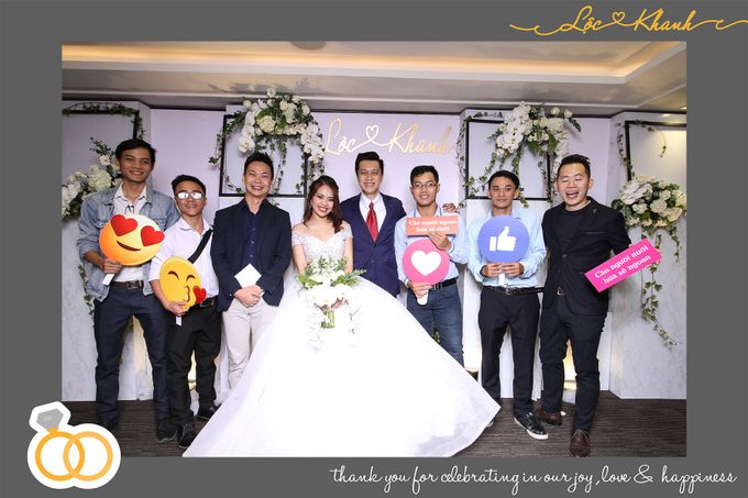 Loc & Khanh Wedding by Printaphy Photobooth Ho Chi Minh Sai Gon Vietnam by Printaphy Photobooth Vietnam - 004