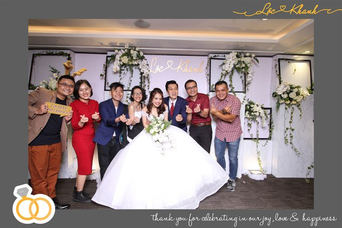 Loc & Khanh Wedding by Printaphy Photobooth Ho Chi Minh Sai Gon Vietnam by Printaphy Photobooth Vietnam - 005