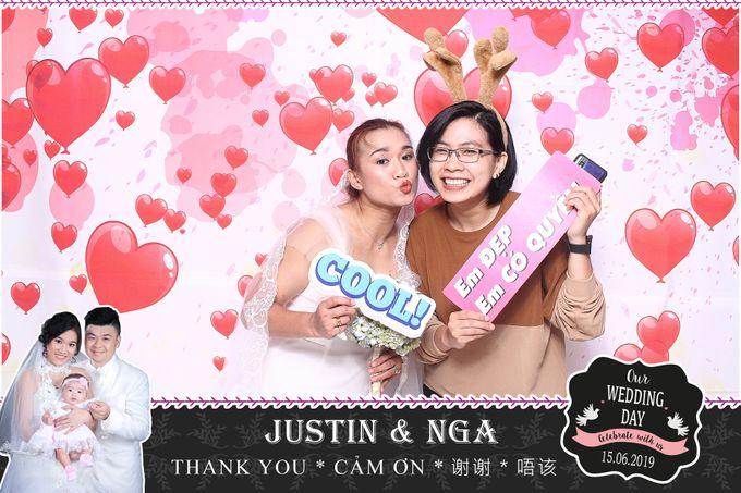 Nga & Justin Wedding by Printaphy Photobooth Ho Chi Minh Sai Gon Vietnam by Printaphy Photobooth Vietnam - 005