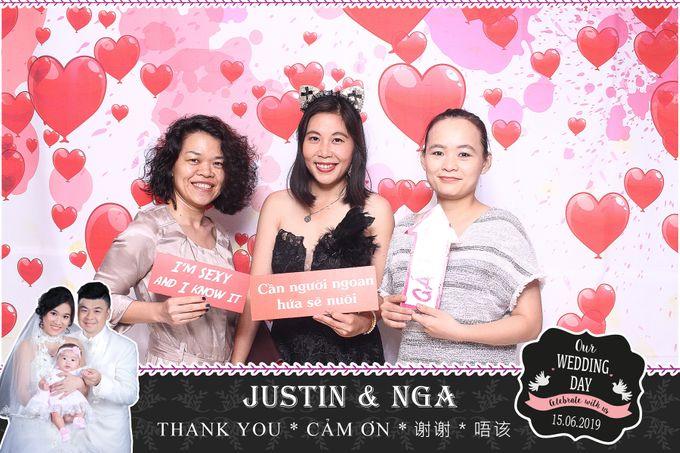 Nga & Justin Wedding by Printaphy Photobooth Ho Chi Minh Sai Gon Vietnam by Printaphy Photobooth Vietnam - 006