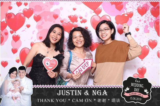 Nga & Justin Wedding by Printaphy Photobooth Ho Chi Minh Sai Gon Vietnam by Printaphy Photobooth Vietnam - 007