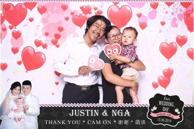 Nga & Justin Wedding by Printaphy Photobooth Ho Chi Minh Sai Gon Vietnam by Printaphy Photobooth Vietnam - 008