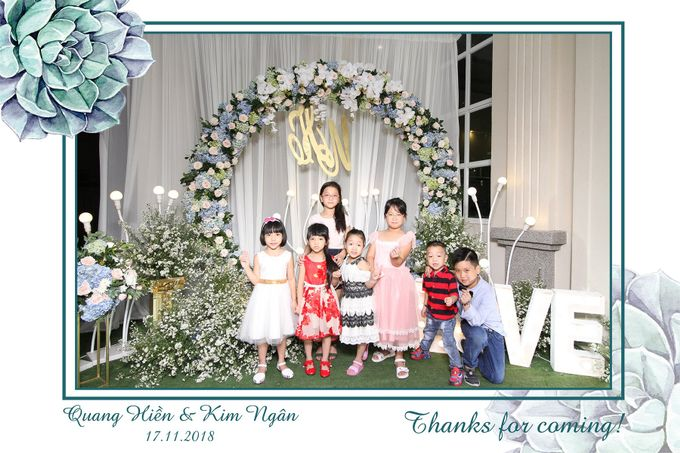 Ngan & Hien Wedding by Printaphy Photobooth Ho Chi Minh Sai Gon Vietnam by Printaphy Photobooth Vietnam - 001