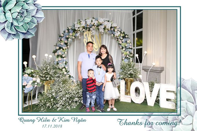 Ngan & Hien Wedding by Printaphy Photobooth Ho Chi Minh Sai Gon Vietnam by Printaphy Photobooth Vietnam - 002