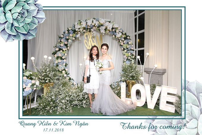 Ngan & Hien Wedding by Printaphy Photobooth Ho Chi Minh Sai Gon Vietnam by Printaphy Photobooth Vietnam - 003