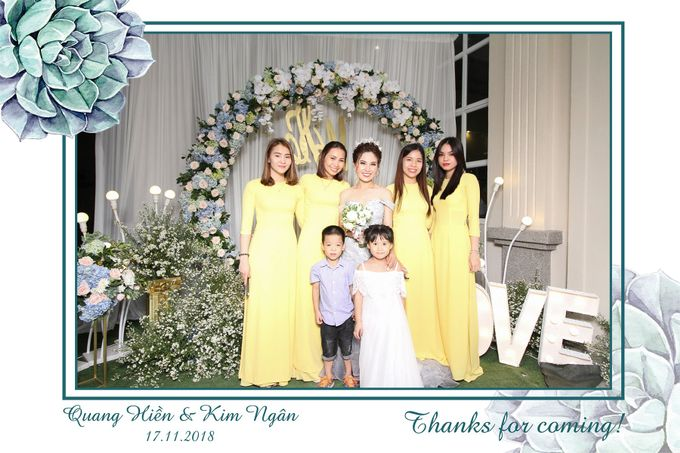 Ngan & Hien Wedding by Printaphy Photobooth Ho Chi Minh Sai Gon Vietnam by Printaphy Photobooth Vietnam - 004