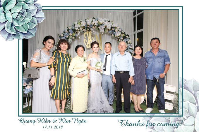 Ngan & Hien Wedding by Printaphy Photobooth Ho Chi Minh Sai Gon Vietnam by Printaphy Photobooth Vietnam - 005