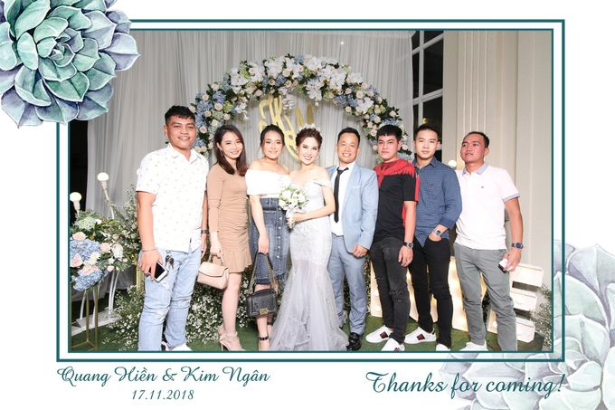 Ngan & Hien Wedding by Printaphy Photobooth Ho Chi Minh Sai Gon Vietnam by Printaphy Photobooth Vietnam - 007