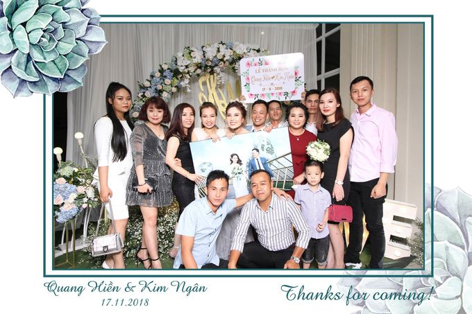 Ngan & Hien Wedding by Printaphy Photobooth Ho Chi Minh Sai Gon Vietnam by Printaphy Photobooth Vietnam - 008