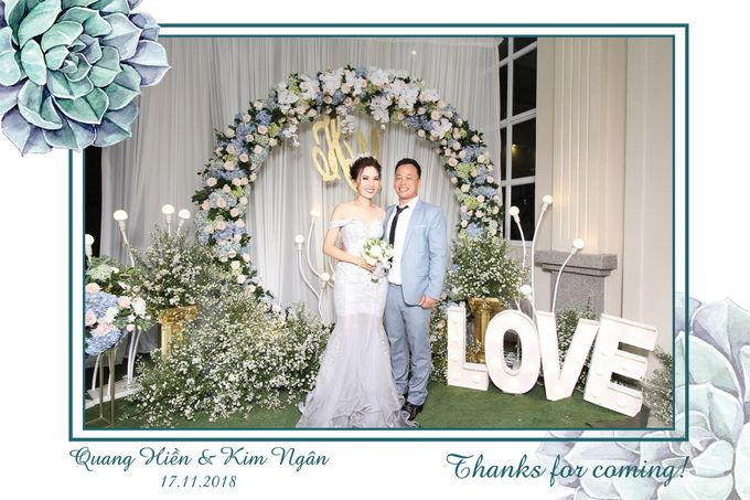 Ngan & Hien Wedding by Printaphy Photobooth Ho Chi Minh Sai Gon Vietnam by Printaphy Photobooth Vietnam - 009