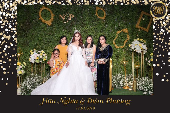 Phuong & Nghia Wedding by Printaphy Photobooth Ho Chi Minh Sai Gon Vietnam by Printaphy Photobooth Vietnam - 002