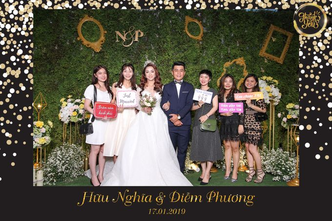 Phuong & Nghia Wedding by Printaphy Photobooth Ho Chi Minh Sai Gon Vietnam by Printaphy Photobooth Vietnam - 003
