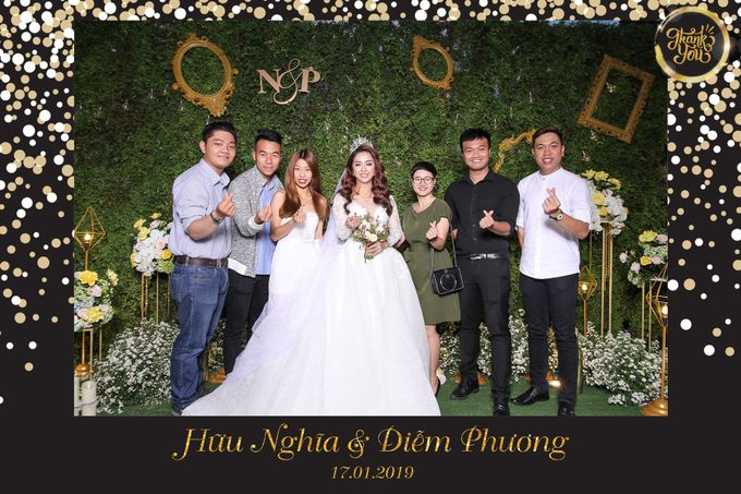Phuong & Nghia Wedding by Printaphy Photobooth Ho Chi Minh Sai Gon Vietnam by Printaphy Photobooth Vietnam - 004