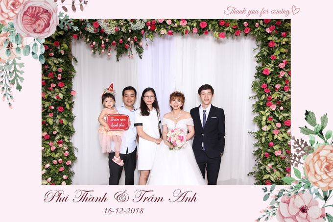 Thanh & Anh Wedding by Printaphy Photobooth Ho Chi Minh Sai Gon Vietnam by Printaphy Photobooth Vietnam - 004