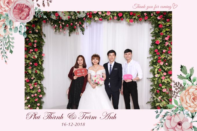 Thanh & Anh Wedding by Printaphy Photobooth Ho Chi Minh Sai Gon Vietnam by Printaphy Photobooth Vietnam - 005
