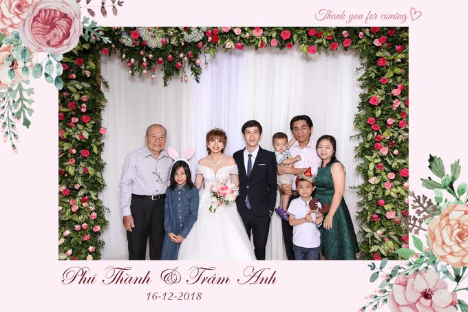 Thanh & Anh Wedding by Printaphy Photobooth Ho Chi Minh Sai Gon Vietnam by Printaphy Photobooth Vietnam - 006