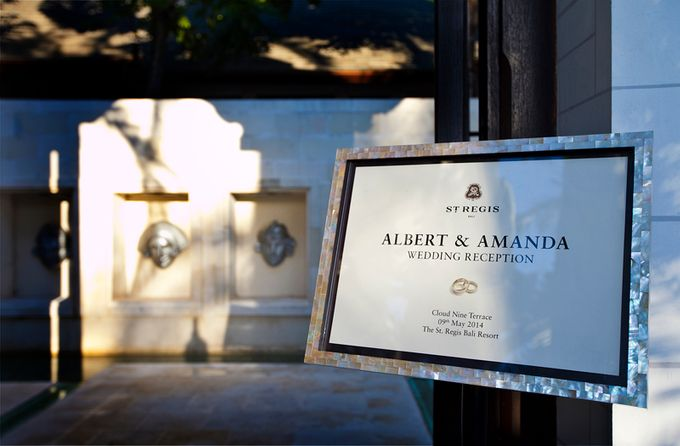 Wedding of Amanda & Albert by The St Regis Bali Resort - 001