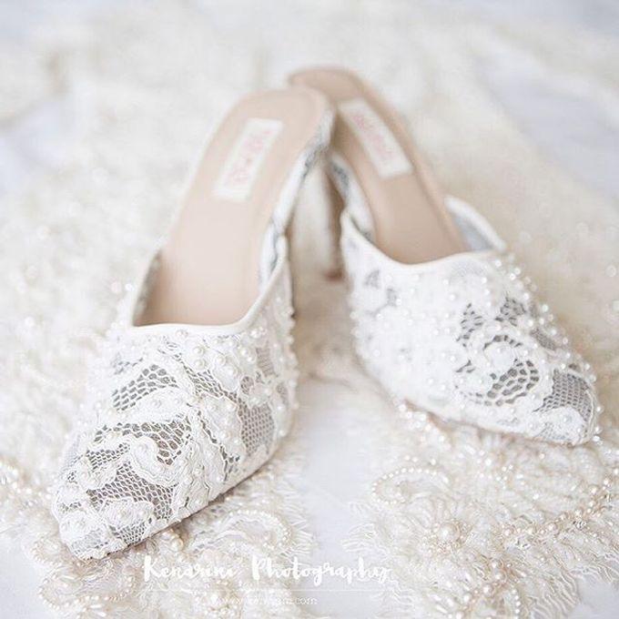 CUSTOM MADE WEDDING SHOES by NAIMA