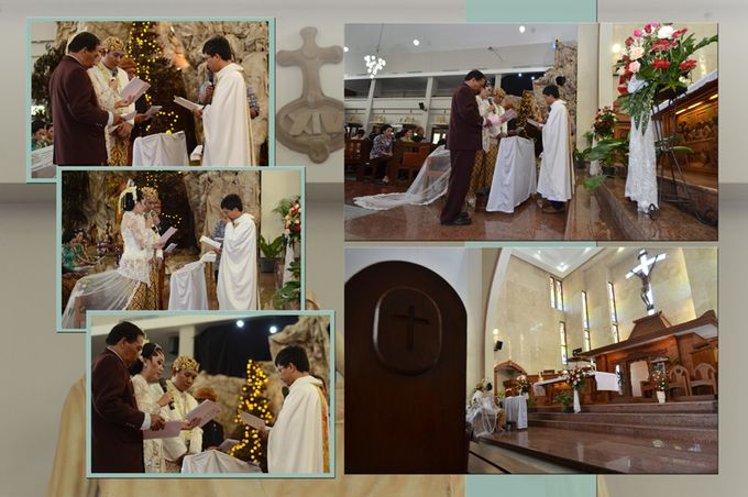 Pemberkatan Pernikahan Diza & Dani by Creative Fotografi - 016