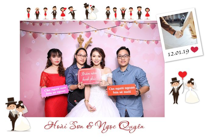 Son & Quyen Wedding by Printaphy Photobooth Ho Chi Minh Sai Gon Vietnam by Printaphy Photobooth Vietnam - 002