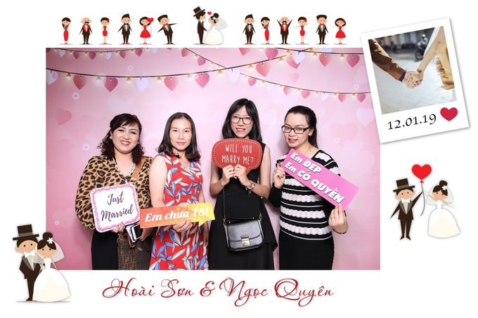 Son & Quyen Wedding by Printaphy Photobooth Ho Chi Minh Sai Gon Vietnam by Printaphy Photobooth Vietnam - 003
