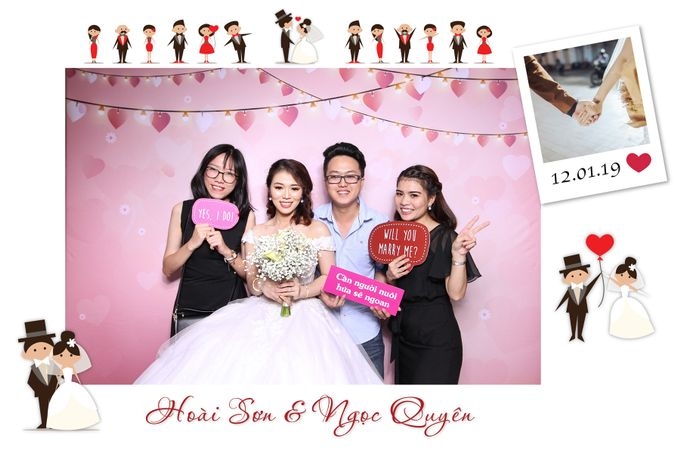 Son & Quyen Wedding by Printaphy Photobooth Ho Chi Minh Sai Gon Vietnam by Printaphy Photobooth Vietnam - 004