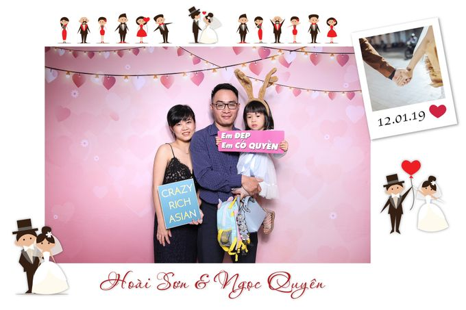 Son & Quyen Wedding by Printaphy Photobooth Ho Chi Minh Sai Gon Vietnam by Printaphy Photobooth Vietnam - 005