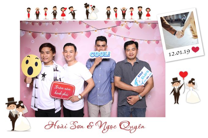 Son & Quyen Wedding by Printaphy Photobooth Ho Chi Minh Sai Gon Vietnam by Printaphy Photobooth Vietnam - 006