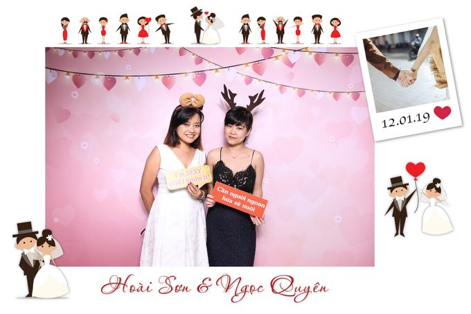 Son & Quyen Wedding by Printaphy Photobooth Ho Chi Minh Sai Gon Vietnam by Printaphy Photobooth Vietnam - 007