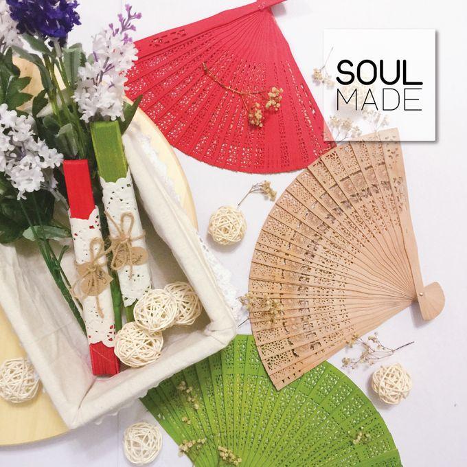 Hand Folded Bamboo Fan by Soulmade Design - 001