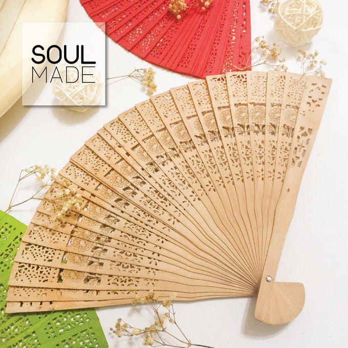 Hand Folded Bamboo Fan by Soulmade Design - 002