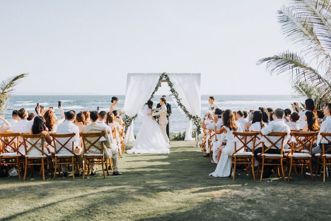 Simple Tropical Summer Wedding at Taman Ahimsa Bali by Silverdust Decoration - 014
