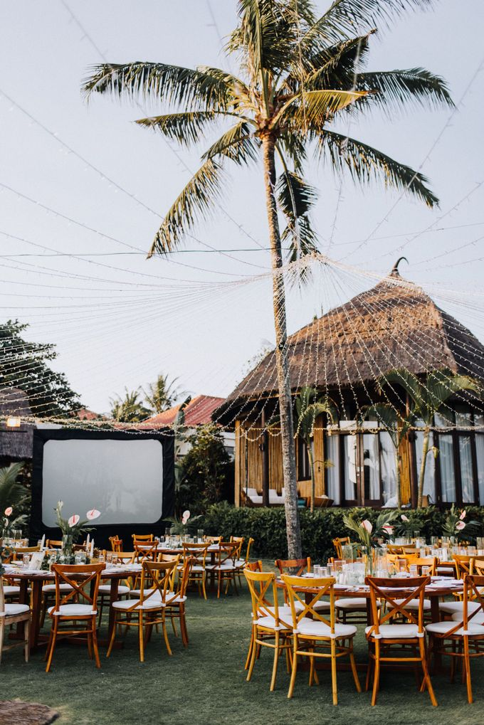 Simple Tropical Summer Wedding at Taman Ahimsa Bali by Silverdust Decoration - 021