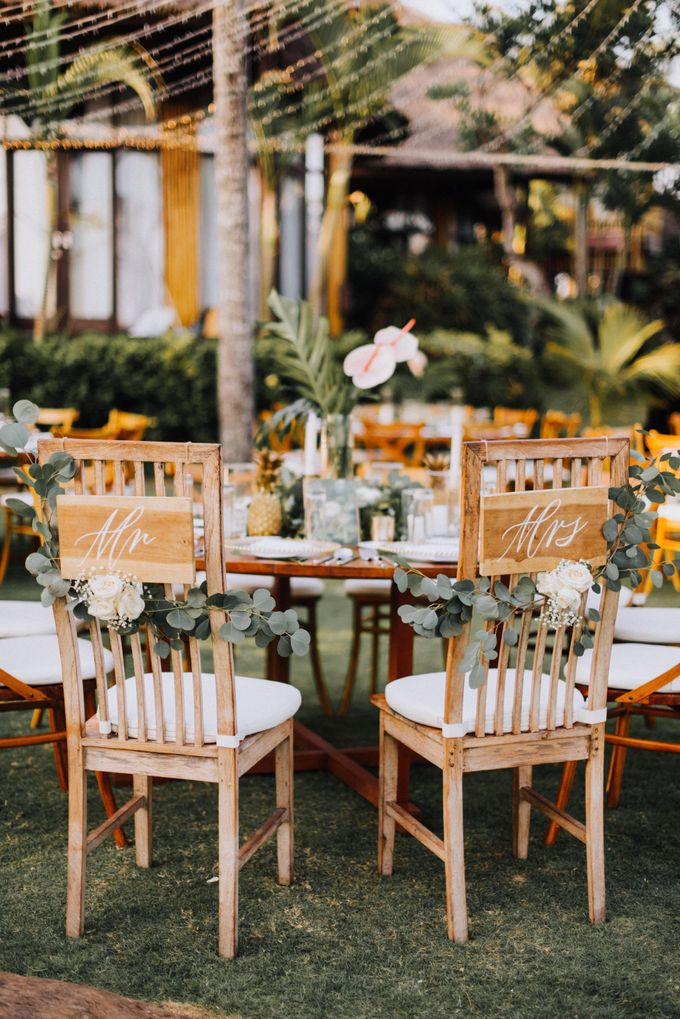 Simple Tropical Summer Wedding at Taman Ahimsa Bali by Silverdust Decoration - 022