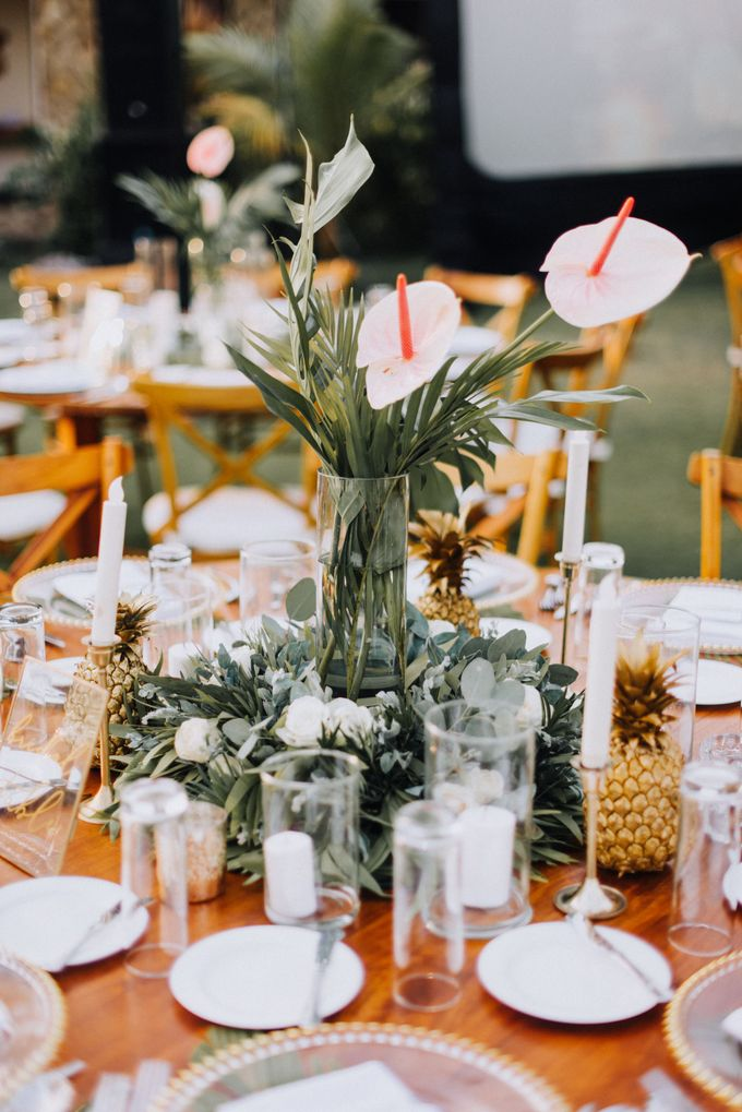 Simple Tropical Summer Wedding at Taman Ahimsa Bali by Silverdust Decoration - 023