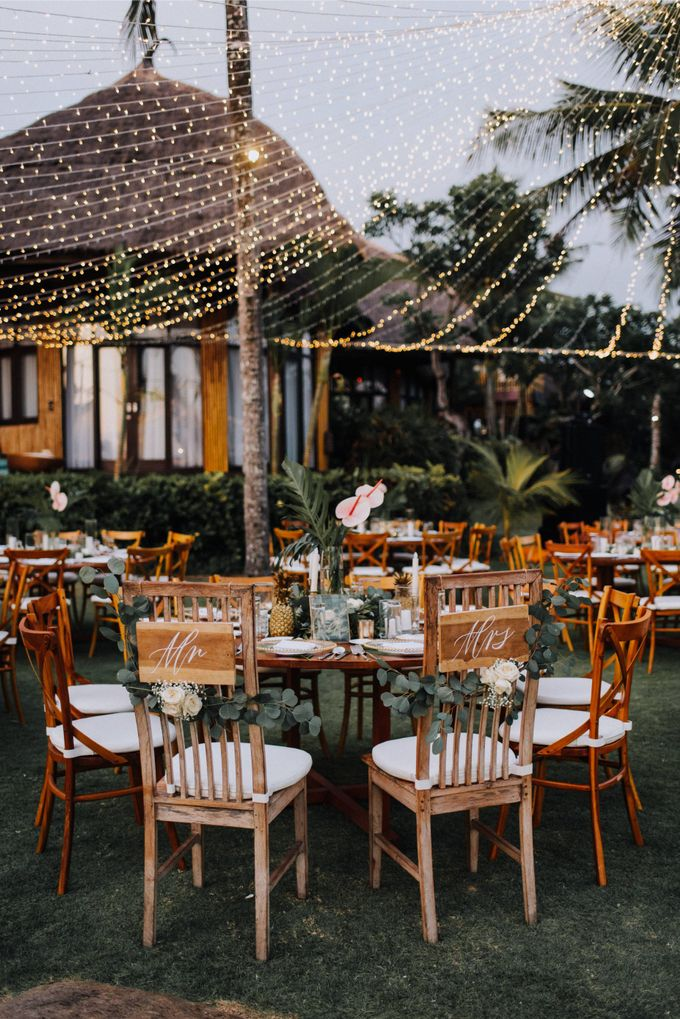 Simple Tropical Summer Wedding at Taman Ahimsa Bali by Silverdust Decoration - 024