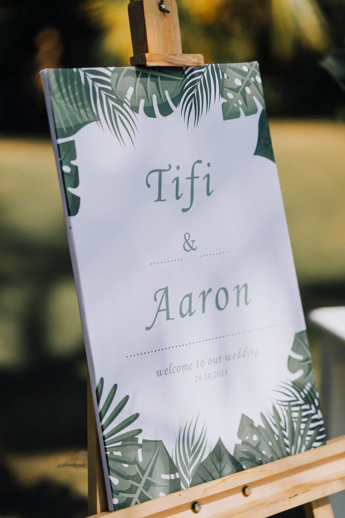 Simple Tropical Summer Wedding at Taman Ahimsa Bali by Silverdust Decoration - 004